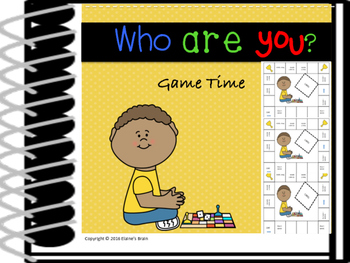Beginning of the Year-Getting to know you activity