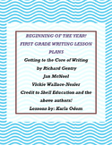 """Beginning of the Year!  """"Getting to the Core of Writing"""""""