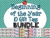 Beginning of the Year Gift Tag Mega Bundle