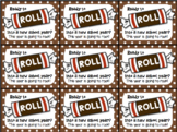 Beginning of Year Gift Tag Tootsie Roll- Ready to roll into a new school year?