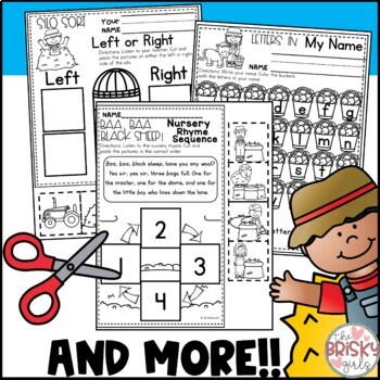 Kindergarten Activities (Farm Theme)