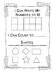 Beginning of the Year Kindergarten Assessment