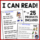 Alphabet Sentences, Sight Word Sentences and Early Literacy Bundle