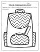 Beginning of the Year Kindergarten Packet