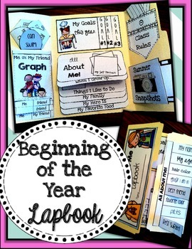 Beginning of the Year Lapbook