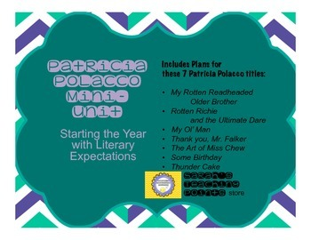 Beginning of the Year Lessons for Reader's Workshop Using Patricia Polacco