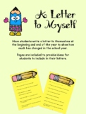 Beginning of the Year Letter to Self