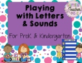 Beginning of the Year Literacy Pack - All About Letters