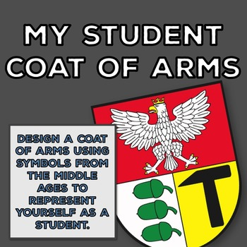 Beginning of the Year: Make a Student Coat of Arms {Get to Know You}