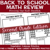Back to School Activities for Math | 2nd Grade (1st Grade Review)