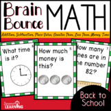 Back to School Math Game