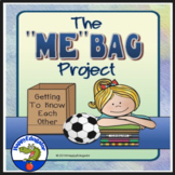All About Me Bag First Week of School Activity