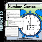 Beginning of the Year Minute to Win It Number Series
