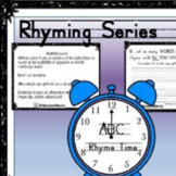 Beginning of the Year Minute to Win It Rhyme and Alliteration