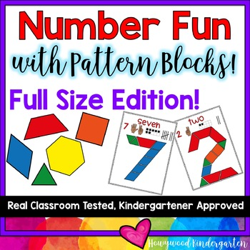 Beginning of the Year Number Fun with Pattern Blocks