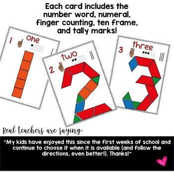 Number Fun with Pattern Blocks ... mini edition!