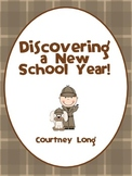 Beginning of the Year Packet - Detective Theme