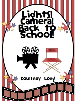 Beginning of the Year Packet - Movie Theme