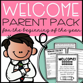Beginning of the Year Parent Packet