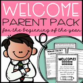 Parent Survey (for beginning of the year)