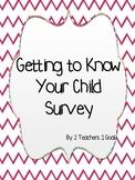 Beginning of the Year Parent Survey
