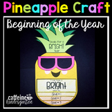 Beginning of the Year Pineapple Writing Craft