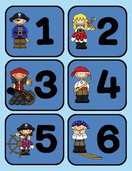 Beginning of the Year Pirates Theme Bundle