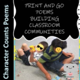 Back to School Poems for Character Counts and Student Learning Contract