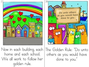 Character Education Decodable Reader Color Version