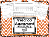 Beginning of the Year Preschool Assessment