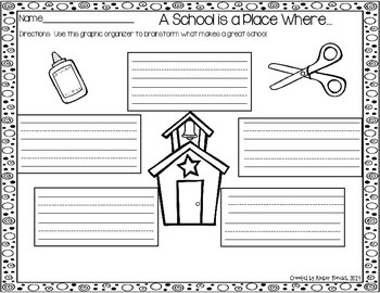 """Back to School Writing Activities~""""You Had Me at Hello"""""""