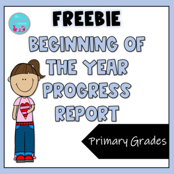 Beginning of the Year Progress Report