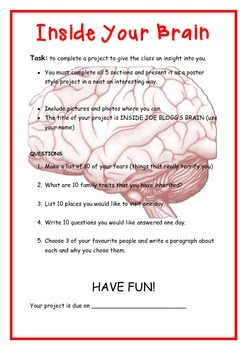 Back to School Project - Inside Your Brain