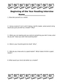Beginning of the Year Reading Interview