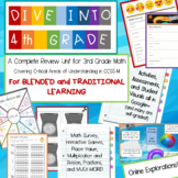 4th Grade Beginning of the Year Review--BLENDED learning edition
