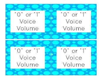 Voice Volume Reminder
