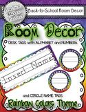 Room Decor - Rainbow Theme