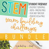 Beginning of the Year STEM Team Building Bundle