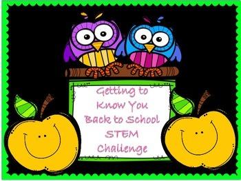 Beginning of the Year STEM challenge