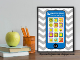 Feelings and Emotions Poster, Smart Phone, School Counselor Sign