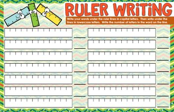 Beginning of the Year School Spelling Activities for ANY List