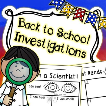 Beginning of the Year Science - Back to School Science - STEM