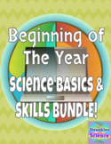 Beginning of Year-Nature of Science Processes & Skills Bun