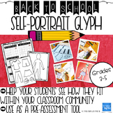 Beginning of the Year Self-Portrait Glyph and Pre-Assessment Activity