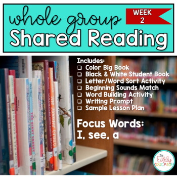 Whole Group Shared Reading Week 2