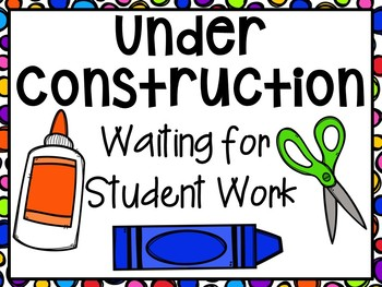 Back to School Bulletin Board Signs for Preschool, Pre-K, and Kindergarten