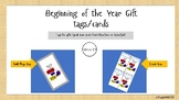 Beginning of the Year Sock Gift Tags