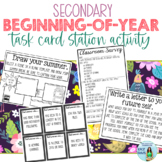 Beginning of the Year Station Task Card (Get-to-Know-You)
