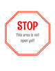 Beginning of the Year Stop Signs