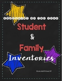 Beginning of the Year Student and (Bilingual) Family Inventories